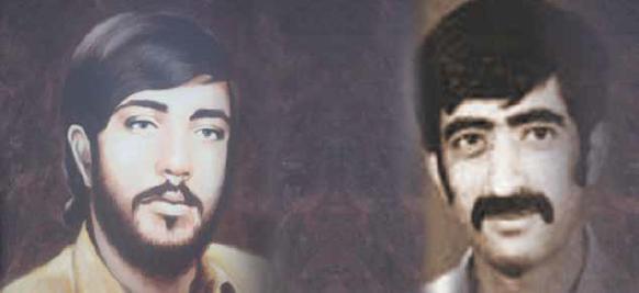 الشهيدان محمد غلوم وسعيد العويناتي